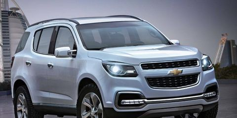 For now, the Chevy TrailBlazer won't go on sale in the United States
