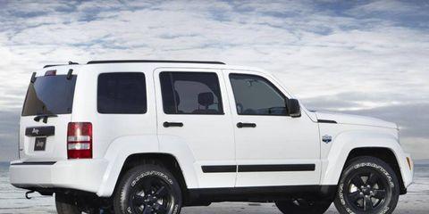 The 2012 Jeep Liberty Arctic gets unique wheels