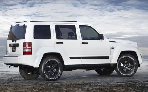 The 2012 Jeep Liberty Arctic gets unique wheels