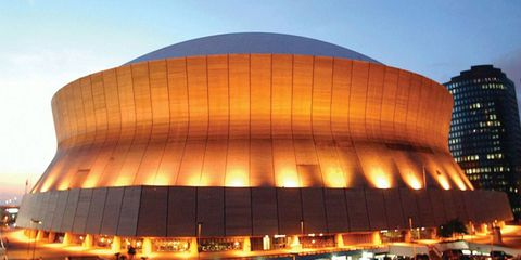 The Louisiana Superdome has added Mercedes-Benz to its team.