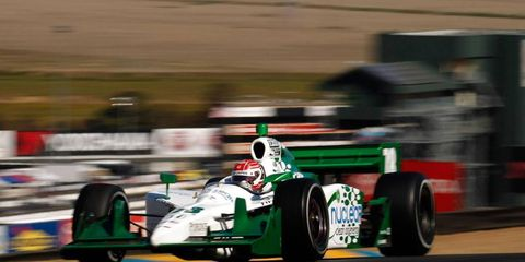 IndyCar and ALMS driver Simon Pagenaud will run in a Formula F race in Las Vegas.