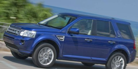 Land Rover has upgraded the coverage of its certified pre-owned vehicles. An LR2 is shown.
