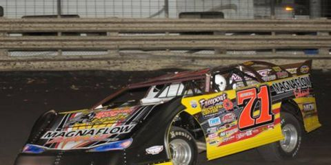 Don O'Neal was a winner in Knoxville, Iowa.