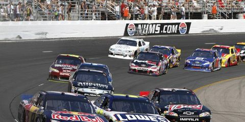 An ownership change at New Hampshire Motor Speedway led to a dispute over radio broadcast rights.