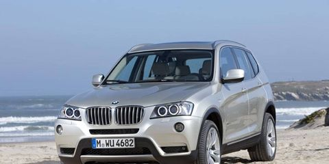 The X3 appears more like a baby X5 than the old model did.