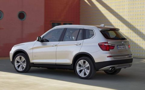 The X3's main competition is the Audi Q5, Volvo XC60 and the Mercedes-Benz GLK.