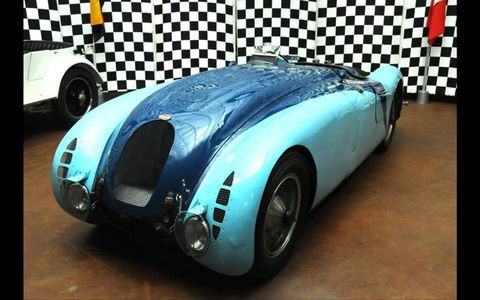 1937 Bugatti 57G  Tank