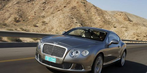 An AW Flash Drive Gallery: 2011 Bentley Continental GT