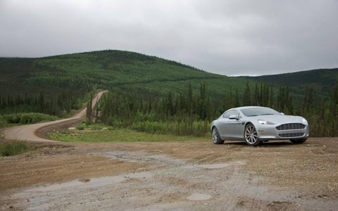Driving an Aston Martin Rapide on the famed Dalton Highway north of the Arctic Circle was a trip. The road was built, in part, to deliver supplies for construction of the trans-Alaska oil pipeline, which snakes alongside much of the highway. While the Rapide handled the road, it was a bit out of place among the big rigs.