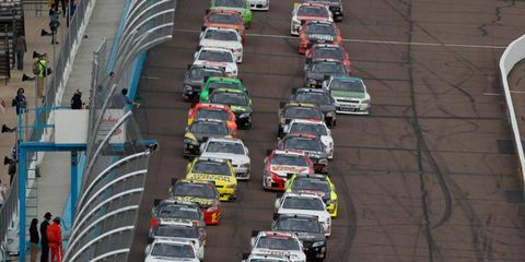 NASCAR's Nationwide series will run 33 races in 2012.