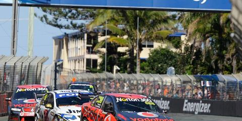 Twenty-eight international drivers will compete at the V8 Supercars race in Australia.