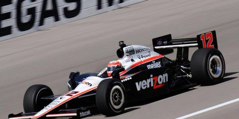 IndyCar driver Will Power says cars run too close and too fast at Las Vegas Motor Speedway.