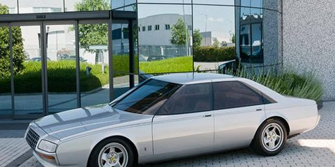 The 1980 Pinin concept is the only four-door to wear the Ferrari name.