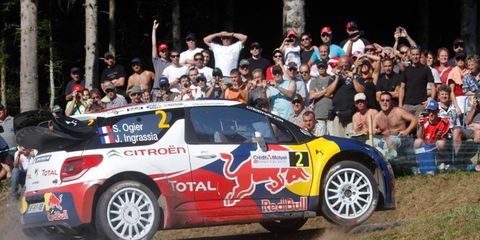 Rally driver Sébastien Ogier will be part of the French team for the Race of Champions.