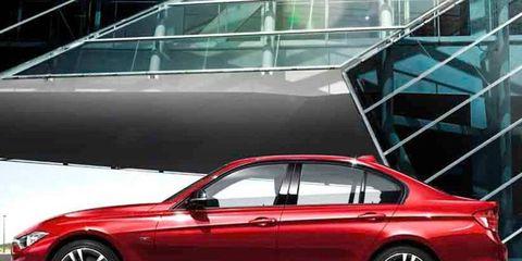 The 2012 BMW 3-series sedan has a turbocharged four as its base engine.