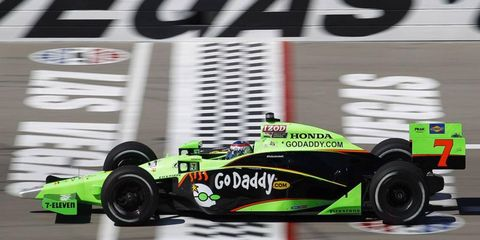 Sunday's IndyCar race is Danica Patrick's last before she moves full-time to NASCAR for 2012.