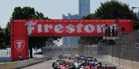 IndyCar racing returns to Detroit in 2012 after a four-year break.
