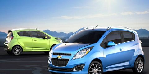 The Chevrolet Spark will arrive as a smaller alternative to the new Chevy Sonic and will be offered in electric-vehicle form.