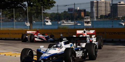 IndyCar last raced on Detroit's Belle Isle in 2008.