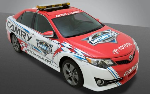 The 2012 Camry will pace the Daytona 500 next year