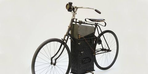 Roper Steam-Powered Motorcycle at Auctions of America by RM