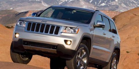 Chrysler Group's sales have been boosted by the redesigned Jeep Grand Cherokee, shown.