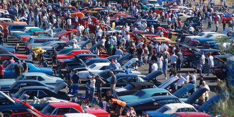 Goodguys will hold 21 events in 2012.