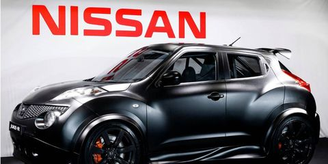 Nissan puts the GT-R engine into the Juke.