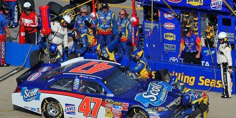 Bobby Labonte's car was found to have an illegal windshield at Talladega.