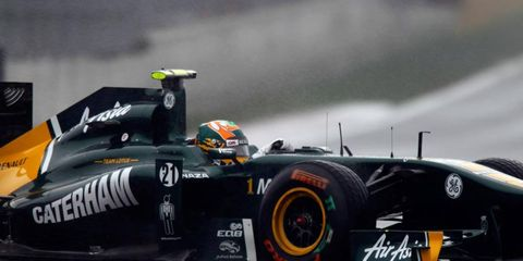 Karun Chandhok won't drive the Lotus entry at the Formula One race in India.