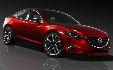 The Mazda Takeri sedan concept debuts at the Tokyo motor show in late November.