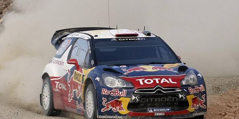 Sébastien Loeb on Sunday took a huge step toward winning his eighth World Rally Championship.