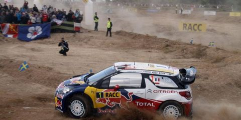 Citroen rally driver Sebastien Loeb takes a 30-second lead into Sunday's final day of the Rally of Spain.