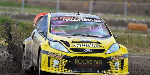 The Global RallyCross Championship will again team with ESPN for 2012.
