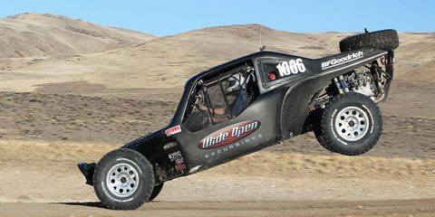 Performance on the Wide Open Reno off-road track could earn Autoweek America Adventure teams some extra points.