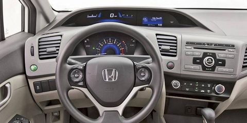 Critics have slammed Honda for using hard, inexpensive-looking plastic on the interior of the redesigned 2012 Civic.