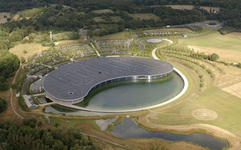 The McLaren Technical Centre from the sky.