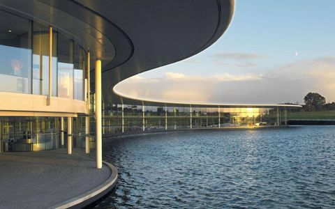 The McLaren Technical Centre in the morning.