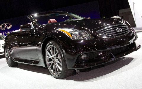 Infiniti G37 IPL was revealed this week at the Los Angeles Auto Show