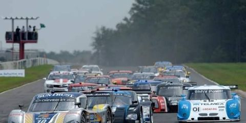The Grand-Am Rolex Sports Car Series will stage a triple-crown mini-championship in 2012.