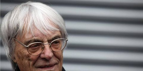 Formula One boss Bernie Ecclestone was in a Munich court on Wednesday as a key witness in the trial of German banker Gerhard Gribkowsky, who faces bribery, embezzlement and tax-evasion charges in connection with the 2006 sale of F1 to CVC Capital Partners.