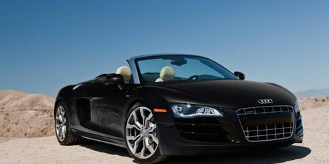 Stock-car legend Richard Petty is seeking a 2012 Audi R8 Spyder 5.2 FSI quattro, among other exotic rides, to add to his driving program offerings.