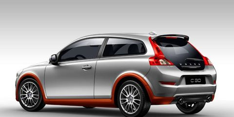 The 2012 Volvo C30 gets a bump from Polestar software.