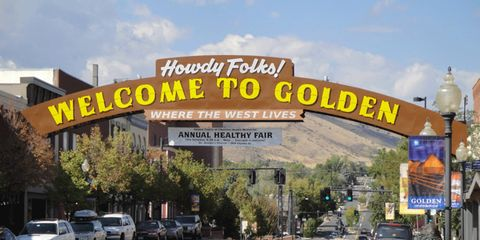 When driving from Denver to Georgetown, Peter recommends stopping in Golden to tour the MillerCoors Brewery and Buffalo Bill Museum