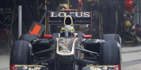 For 2012, the chassis for the Lotus Renault Formula One team will be named Lotus.