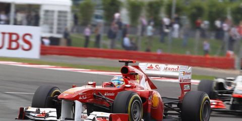 Ferrari's lone Formula One victory so far this year was at Silverstone.