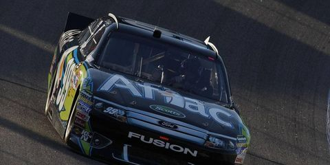 Carl Edwards is the Sprint Cup points leader heading into Sunday's NASCAR race at Texas Motor Speedway.