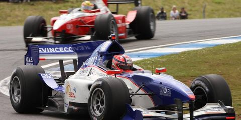 Kevin Ceccon made his GP2 debut this year.