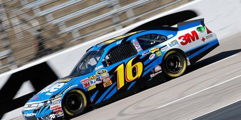 Greg Biffle put up the fastest lap during NASCAR Sprint Cup practice Friday at Texas Motor Speedway.