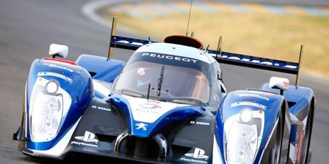 The FIA believes larger holes in the fenders will reduce the chance a Le Mans prototype will get airborne in a crash.